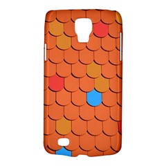 Roof Brick Colorful Red Roofing Galaxy S4 Active