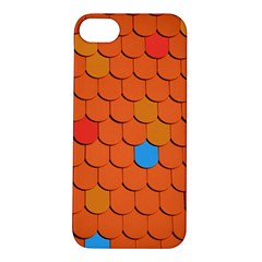 Roof Brick Colorful Red Roofing Apple Iphone 5s/ Se Hardshell Case