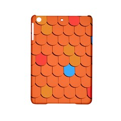 Roof Brick Colorful Red Roofing iPad Mini 2 Hardshell Cases
