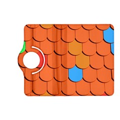 Roof Brick Colorful Red Roofing Kindle Fire HD (2013) Flip 360 Case