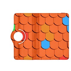 Roof Brick Colorful Red Roofing Kindle Fire Hdx 8 9  Flip 360 Case