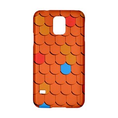 Roof Brick Colorful Red Roofing Samsung Galaxy S5 Hardshell Case