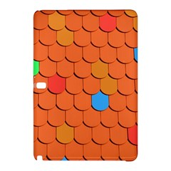 Roof Brick Colorful Red Roofing Samsung Galaxy Tab Pro 12.2 Hardshell Case