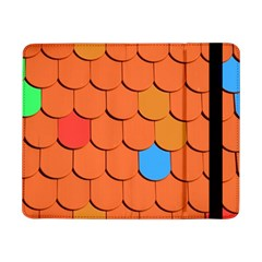 Roof Brick Colorful Red Roofing Samsung Galaxy Tab Pro 8.4  Flip Case