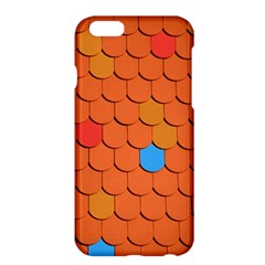 Roof Brick Colorful Red Roofing Apple iPhone 6 Plus/6S Plus Hardshell Case