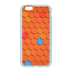 Roof Brick Colorful Red Roofing Apple Seamless iPhone 6/6S Case (Color)