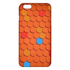 Roof Brick Colorful Red Roofing iPhone 6 Plus/6S Plus TPU Case