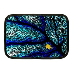 Sea Fans Diving Coral Stained Glass Netbook Case (medium)
