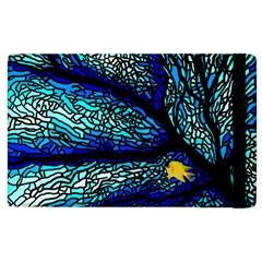 Sea Fans Diving Coral Stained Glass Apple Ipad 2 Flip Case