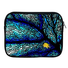 Sea Fans Diving Coral Stained Glass Apple Ipad 2/3/4 Zipper Cases