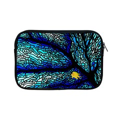 Sea Fans Diving Coral Stained Glass Apple iPad Mini Zipper Cases