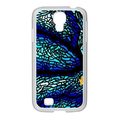 Sea Fans Diving Coral Stained Glass Samsung GALAXY S4 I9500/ I9505 Case (White)