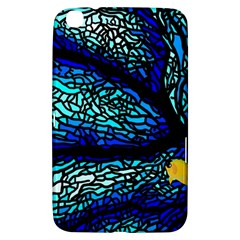 Sea Fans Diving Coral Stained Glass Samsung Galaxy Tab 3 (8 ) T3100 Hardshell Case