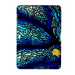 Sea Fans Diving Coral Stained Glass Samsung Galaxy Tab 2 (10.1 ) P5100 Hardshell Case