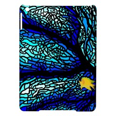 Sea Fans Diving Coral Stained Glass iPad Air Hardshell Cases