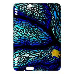 Sea Fans Diving Coral Stained Glass Kindle Fire HDX Hardshell Case