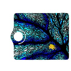 Sea Fans Diving Coral Stained Glass Kindle Fire Hdx 8 9  Flip 360 Case