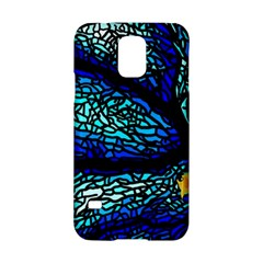 Sea Fans Diving Coral Stained Glass Samsung Galaxy S5 Hardshell Case
