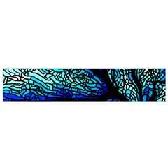 Sea Fans Diving Coral Stained Glass Flano Scarf (Small)