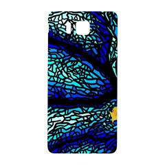 Sea Fans Diving Coral Stained Glass Samsung Galaxy Alpha Hardshell Back Case