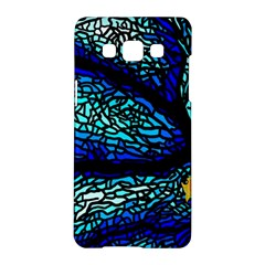 Sea Fans Diving Coral Stained Glass Samsung Galaxy A5 Hardshell Case