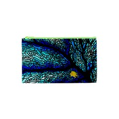 Sea Fans Diving Coral Stained Glass Cosmetic Bag (XS)