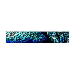 Sea Fans Diving Coral Stained Glass Flano Scarf (mini)