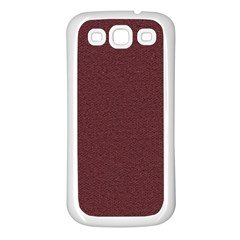 Seamless Texture Tileable Book Samsung Galaxy S3 Back Case (White)