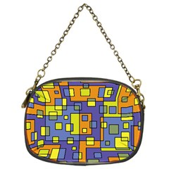 Square Background Background Texture Chain Purses (One Side)