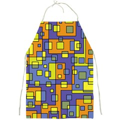 Square Background Background Texture Full Print Aprons