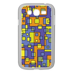 Square Background Background Texture Samsung Galaxy Grand DUOS I9082 Case (White)