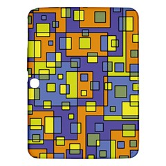 Square Background Background Texture Samsung Galaxy Tab 3 (10.1 ) P5200 Hardshell Case