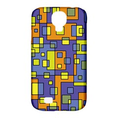 Square Background Background Texture Samsung Galaxy S4 Classic Hardshell Case (PC+Silicone)