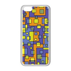 Square Background Background Texture Apple iPhone 5C Seamless Case (White)