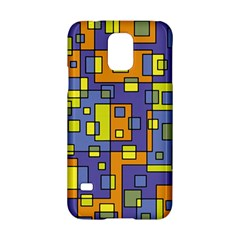 Square Background Background Texture Samsung Galaxy S5 Hardshell Case