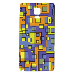 Square Background Background Texture Galaxy Note 4 Back Case