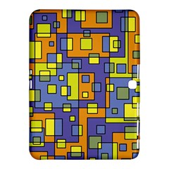 Square Background Background Texture Samsung Galaxy Tab 4 (10.1 ) Hardshell Case