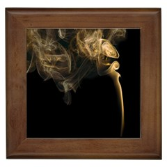 Smoke Fume Smolder Cigarette Air Framed Tiles