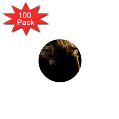 Smoke Fume Smolder Cigarette Air 1  Mini Buttons (100 Pack)