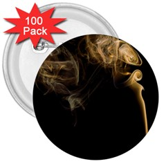 Smoke Fume Smolder Cigarette Air 3  Buttons (100 pack)