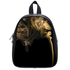 Smoke Fume Smolder Cigarette Air School Bags (small)
