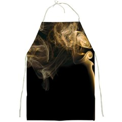 Smoke Fume Smolder Cigarette Air Full Print Aprons