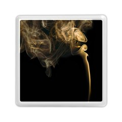 Smoke Fume Smolder Cigarette Air Memory Card Reader (Square)