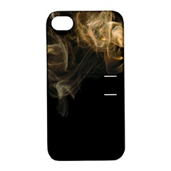 Smoke Fume Smolder Cigarette Air Apple iPhone 4/4S Hardshell Case with Stand