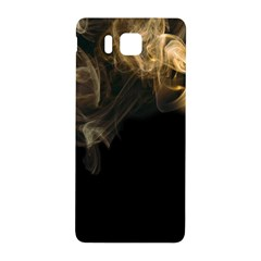 Smoke Fume Smolder Cigarette Air Samsung Galaxy Alpha Hardshell Back Case