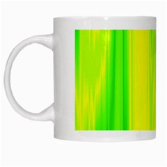 Shading Pattern Symphony White Mugs