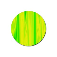 Shading Pattern Symphony Rubber Round Coaster (4 pack)