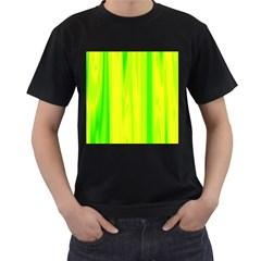Shading Pattern Symphony Men s T Shirt (black)