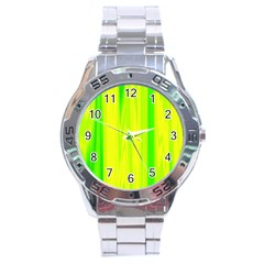 Shading Pattern Symphony Stainless Steel Analogue Watch