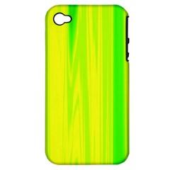 Shading Pattern Symphony Apple Iphone 4/4s Hardshell Case (pc+silicone)